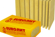 Евро ЛИТ огнезащитные теплоизоляционные плиты