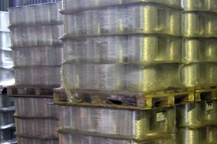 Стеклоровинг в упаковках для транспортировки