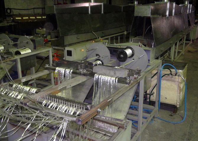 Автоматическая линия для производства стеклопластиковой арматуры